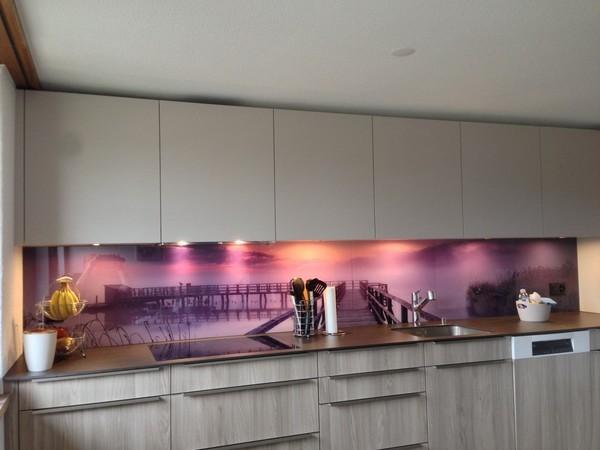 glasrückwand küche - Glas Für Küchenrückwand