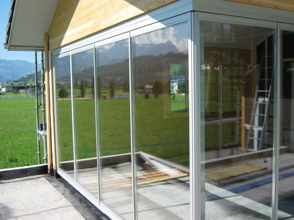 Beliebt Bevorzugt Terrassenverglasung &WY_84